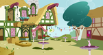 The Clover Cafe (background) by Archive-Alicorn
