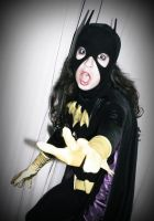 Batgirl Back in Black - No Pictures! by ozbattlechick