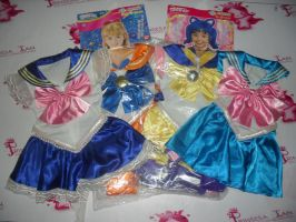 PGSM COSTUMES FOR KIDS BANDAI by prinsesaian