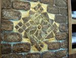 Steampunk House Exterior Wall Medallion Detail by Kyle-Lefort