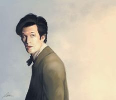 11th Doctor Redue by Quackamos