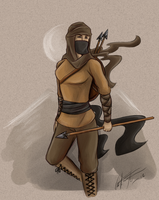 WoT: Maiden of the Spear by Kitsune-gari
