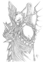 Warden by aestheticartist by warcraft