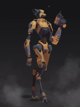 Mechanic Robot by awesomeplex