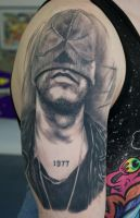 bob rifo tattoo healed by graynd
