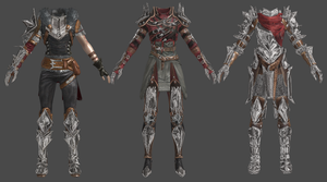 DAI Hawke Female Champion Outfits XPS by Padme4000