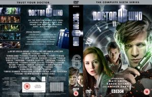DOCTOR WHO SERIES 6 DVD COVER by MrPacinoHead