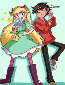 Star And Marco by LovableQueen