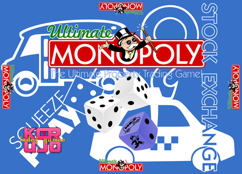Ultimate Monopoly box cover art by jonizaak