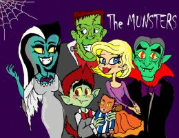TV family: The Munsters by raggyrabbit94