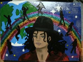 michael and rainbow by ajacqmain