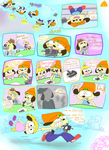 Parappa Comic 3 by SkyLight-X3
