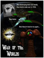 War of the Worlds poster by mdbruffy
