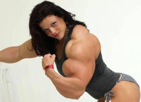 Oana Huge Biceps2 by Turbo99