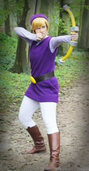 Purple Link action by Dalinxdust