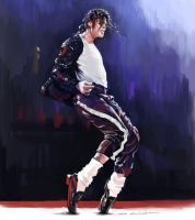 Michael Jackson's Billie Jean by darkdamage