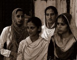 INDIAN MUSLIM GIRLS by anjumnaim55