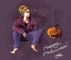 Happy Halloween by VentriloquistBeast