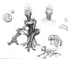 Alien - Life Cycle by Noonz