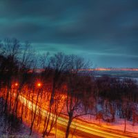 Nightly Kiev. Parkway by AlexGontar