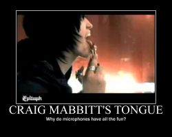 Motivational-Craig Mabbitt by CuckooBanana