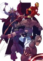 Avengers Assemble! by Juggertha