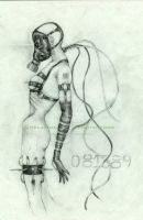 Gas Mask: Anorexia Nervosa by AbhorrentIllusions