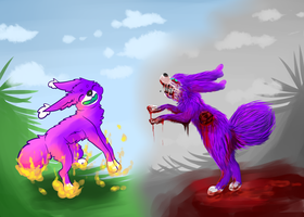 Then And Now by Schuffles