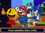 True gaming since 1980 by KidBobobo