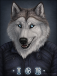 Ice Badge by Sidonie