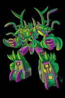 Transformers sample Eric Allard TF design by Shin-Herobot