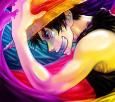 Happy B-day Luffy by Zinfer