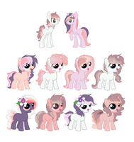 #3 and SweetScent OFFER TO ADOPTS. 5 left by Yumi-Kitten