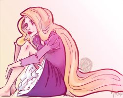 Rapunzel by speep