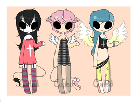 Cross Adoptables (Closed) by curled-mustache