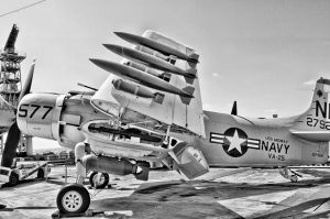 airplane 6  just glorious A-1 Skyraider by rockerbmg666
