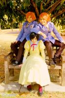 Ouran: Trio by elpheal