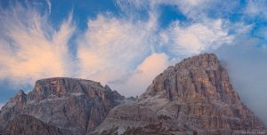 Tre Cime - Clouds by AndreasResch