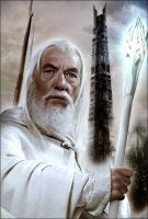 Gandalf the White in Isengard by YoungPhoenix3191