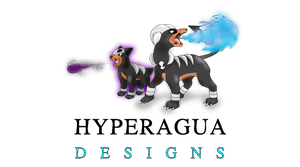 Inferno Dogs Duo Real Sizes by Hyperagua