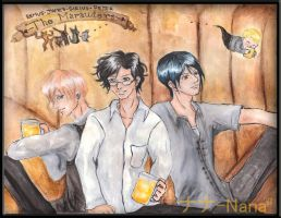 The Marauders by dontcallmenymphadora