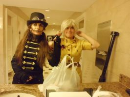 AnimeUSA 2012 - Tock and Seras by LadyduLac