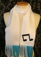 Vinyl Scratch Dj Pon3 Embroidered Scarf by burntthemacaroni