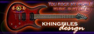 Khingfiles Design-You Rock My World-Music by khingfiles