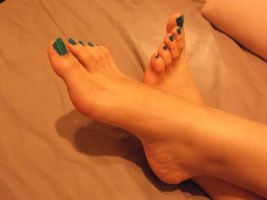 My Feet 3 by Whor4cle