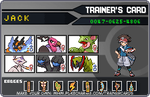 my pokemon trainercards of PKB2 by FunnyGamer95