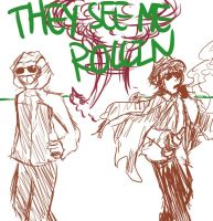 I WANNA ROLL WITH THE GANGSTERS by Iris-Angelus
