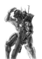 Field Soldier by MeckanicalMind