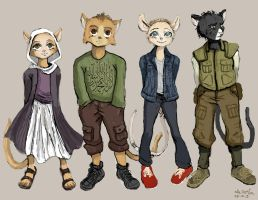 Project Sand - Character Designs by TheLivingShadow