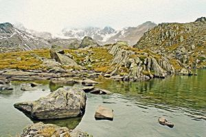 Mountain Lake Stock By Aehireiel Stock-d2ypqne by frankartnumerique